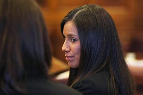 Alexis Wright, 29, pleaded not guilty this week to more than 100 counts of prostitution.