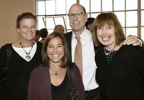 From left: Beth Negri of West Roxbury, Deb Quillen of Shrewsbury, Don Haggerty of Jamaica Plain, and Carol Austin of Quincy.