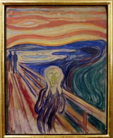 "Edvard Munch's painting ""The Scream"" was stolen from a Norway museum in 2004. It was recovered two years later."