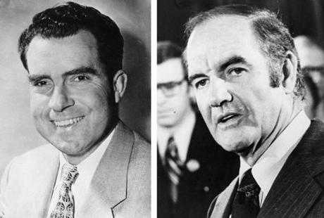 McGovern, a Democrat, unsuccessfully challenged Republican President Richard Nixon in a 1972 presidential campaign.