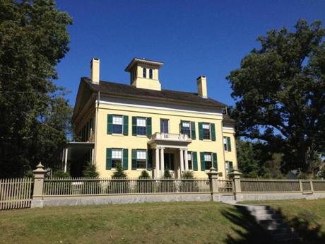 The Homestead, built around 1813 for Emily Dickinson's grandparents, was where Emily was born in 1830. Her family moved to another house in 1840, but moved back here in 1855. Emily and her sister, Lavinia, lived here for the rest of their lives.