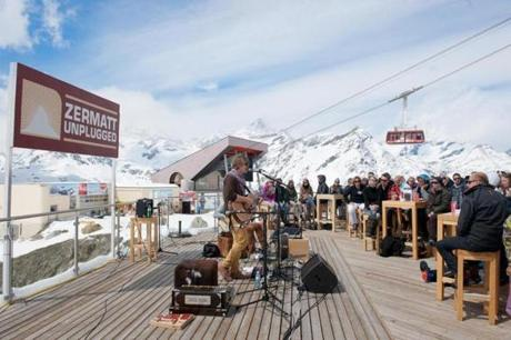 Zermatt Unplugged, We Invented Paris at Blue Lounge.