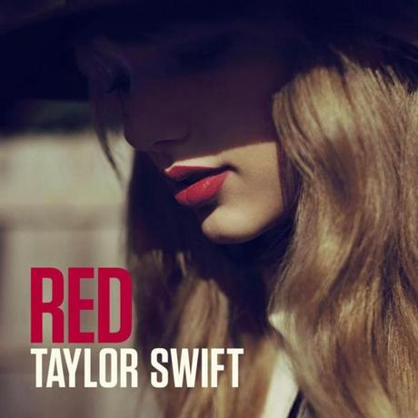 "The cover of Taylor Swift's ""Red."""