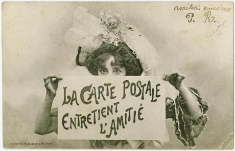 Postcard from A. Bergeret et Cie from about 1904.