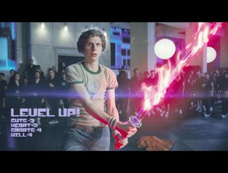 "Michael Cera in ""Scott Pilgrim vs. the World."""