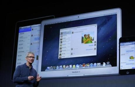 Cook also said Apple's app store had more than 700,000 apps, including 275,000 for the iPad.