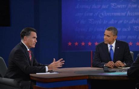 Mitt Romney answered a question.