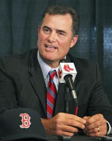Boston, MA--10/22/12: The Boston Red Sox introduced new manager John Farrell at a noon press conference at Fenway Park. section:sports topic:unknown (Jim Davis/Globe Staff)