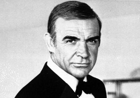 "Sean Connery as James Bond in ""Never Say Never Again."""