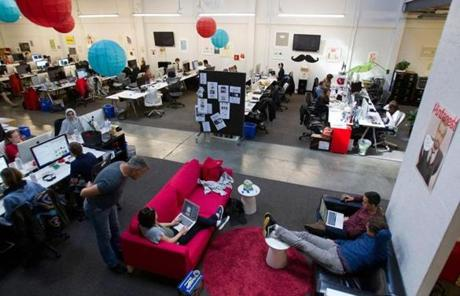 Pinterest, with 75 employees, is growing so fast it can barely keep up.