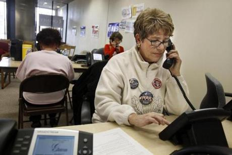 "Romney campaign volunteer Pamela Wilging, 63, said she ""cannot describe the energy"" to secure a GOP victory."