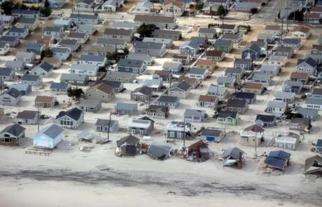 Seaside Heights, N.J., is seen after Sandy.