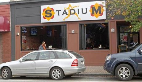 Stadium Sports Bar and Grill opened this year in Waltham.