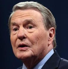 Jim Lehrer's moderating skills were panned.