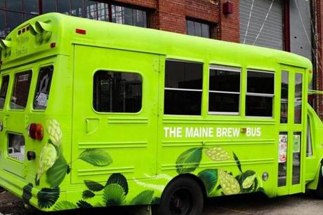 The 13-passenger Maine Brew Bus now offers three tours tour of southern Maine's top micro breweries.