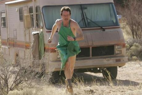 "Bryan Cranston in AMC's ""Breaking Bad."""
