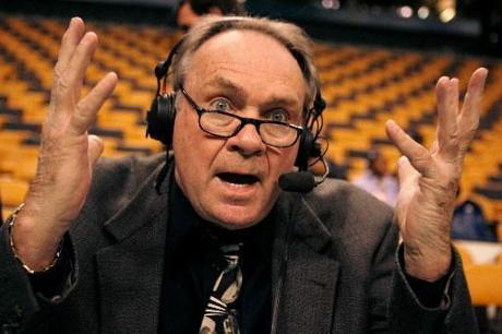 After a career as a player and coach for the Celtics, Tommy Heinsohn is now a commentator for the team