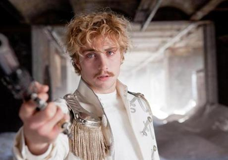 "Aaron Taylor-Johnson in ""Anna Karenina."""