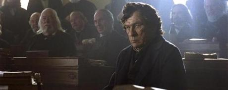 Tommy Lee Jones almost steals the movie as Republican Representative Thaddeus Stevens