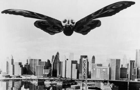 Mothra, without a new set of tracheal tubes, would have suffocated before getting off the ground, says University of Chicago professor Michael LaBarbera.