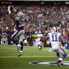 McCourty intercepted a pass intended for Bills receiver T.J. Graham to ice the game in the final minute.