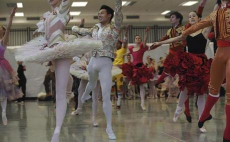 The Boston Ballet presented the new costumes for their  production of The Nutcracker to media outlets at their South End headquarters on November 8.