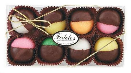 Chocolate-dipped mints, $7 at Fedele's Hand Dipped Chocolates, Village Landing Marketplace, 170 Water Street, 508-746-8907, fedeleschocolates.com