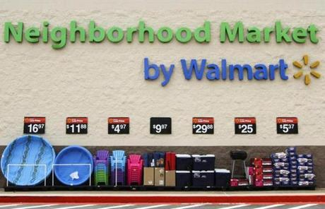 Walmart and Target promote themselves as one-stop supermarkets for busy families.