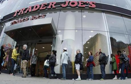 Stores like Trader Joe's use offbeat marketing to promote innovative stock.