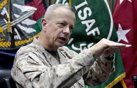Subsequent investigation revealed Kelley had inappropriate communications with US General John Allen, top commander of US forces in Afghanistan.
