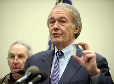 Democrat Edward Markey will run for John Kerry's Senate seat.