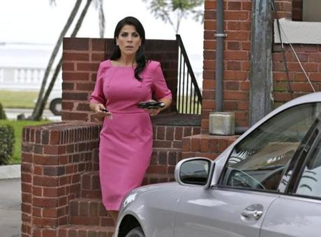Jill Kelley departed her home in Tampa, Fla., Tuesday.