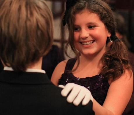 Elisabeth Ford, age 10, was one of the participants at Boston Assemblies in Hingham.