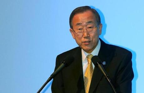 UN Secretary General Ban Ki-moon said he will visit Gaza, Jerusalem, Cairo, and Ramallah on a diplomatic mission.