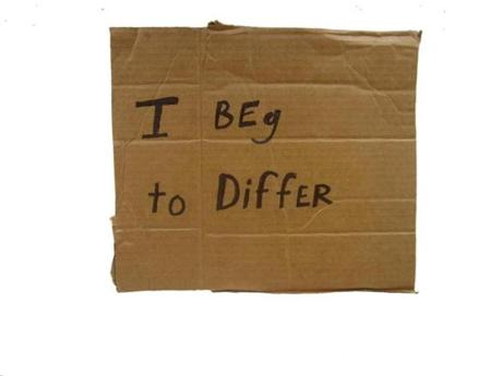 Ongoing series of cardboard signs, 2003-present.