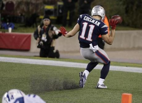 It would be one of two touchdowns during the game for Edelman.