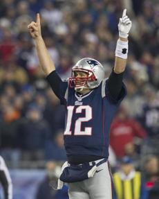 It marked the second time this season, and fifth since 2007, that the Patriots scored more than 50 points in one game.