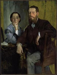 Edmondo and ThŽrse Morbilli, about 1865 Edgar Degas, French, 1834-1917 Oil on canvas *Museum of Fine Arts, Boston. Gift of Robert Treat Paine, 2nd *Photograh © Museum of Fine Arts, Boston 25missing