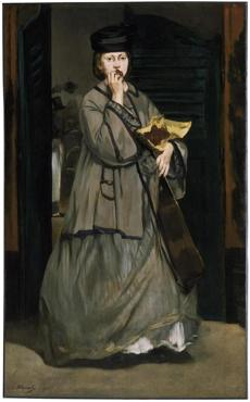 Street Singer, about 1862 Edouard Manet, French, 1832-1883 Oil on canvas *Museum of Fine Arts, Boston. Bequest of Sarah Choate Sears in memory of her husband, Joshua Montgomery Sears *Photograph © Museum of Fine Arts, Boston 25missing