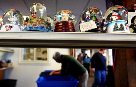 Snow globes were outlawed along with many liquids and gels in 2007 after an apparent terrorist plot to use liquid explosives on planes.