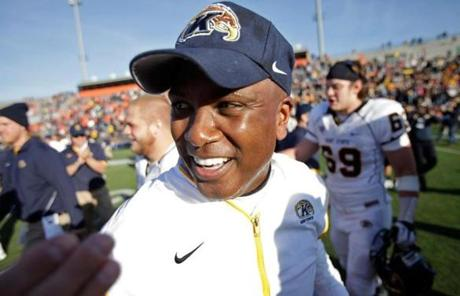 Head coach Darrell Hazell has Kent State University in the MAC title game with an outside shot at earning a BCS bowl berth.