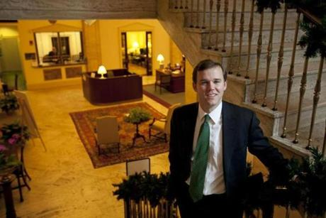 Nick Hofer, a senior vice president at Boston Private, knows each of his 100 clients well.