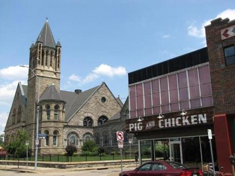 Union Pig and Chicken in the East Liberty neighborhood in Pittsburgh.