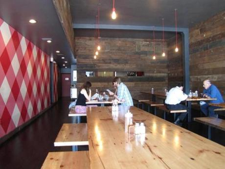 Interior of the Union Pig and Chicken.