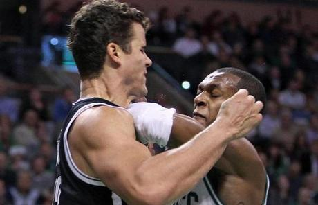 Rondo took a swing at Humphries, which ignited a fracas and led to an ejection for the Celtics guard.