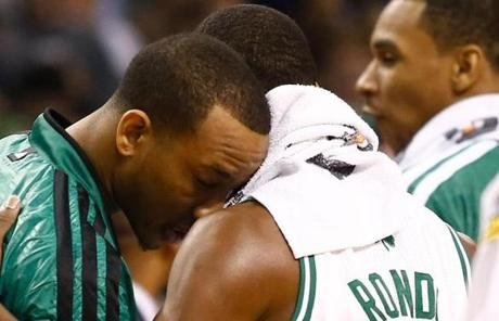 It was the third ejection in 10 months for Rondo, who could face a suspension now.
