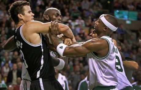 Head official James Capers blamed Rondo for the fight. Rondo, he said,