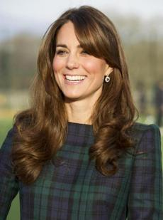 Kate Middleton, now Duchess of Cambridge, was caught rocking side bangs just prior to announcing her pregnancy.
