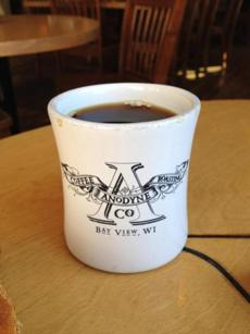 Anodyne Coffee in Milwaukee.