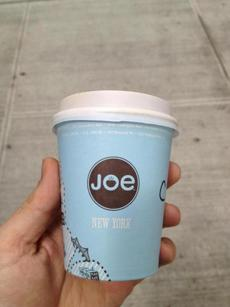 Joe in New York City.